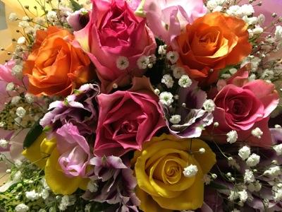 家族からの花束