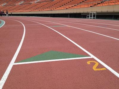 国立競技場、第2コース