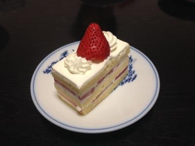 ザ・カフェのショートケーキ