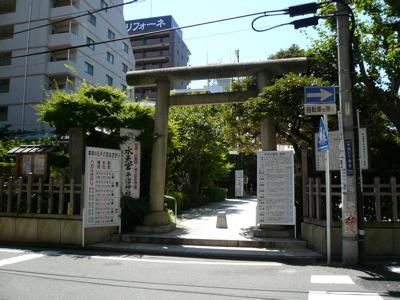 水天宮平沼神社 正門
