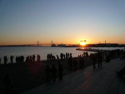 2009年の初日の出